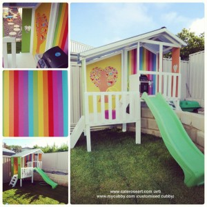 My Cubby Painting ideas stripes