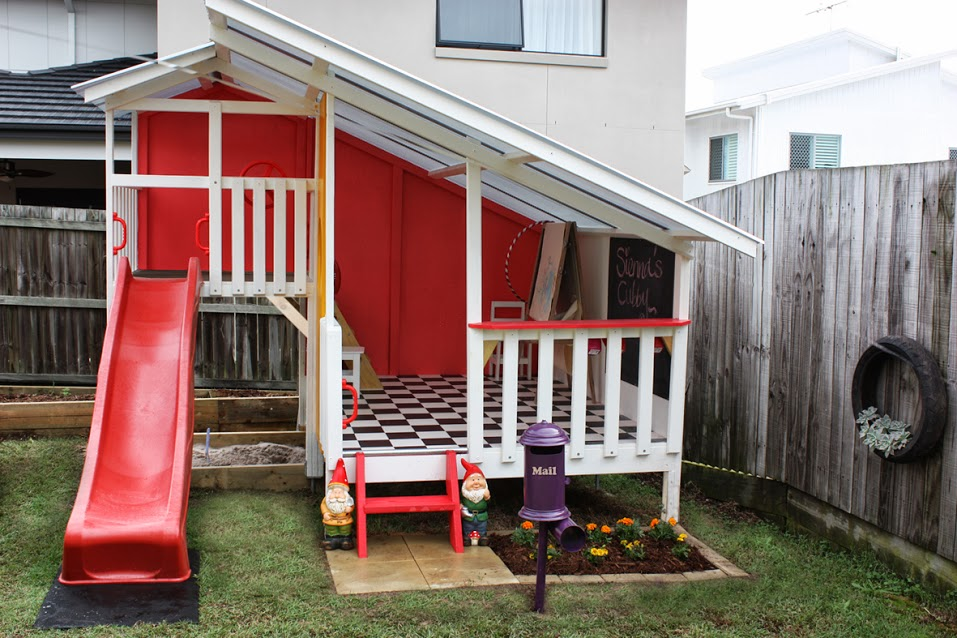 5 reasons to make a cubby house garden with your children