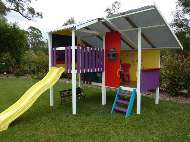 Our Cubby Houses are easily relocated and perfect for rentals