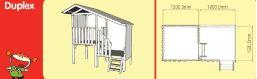 Duplex cubby house