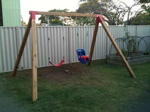 swing set for Christmas