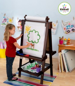 Delux Wooden Easel My Cubby Christmas Wish List