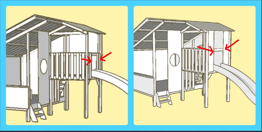 Slide panels or balustrading?
