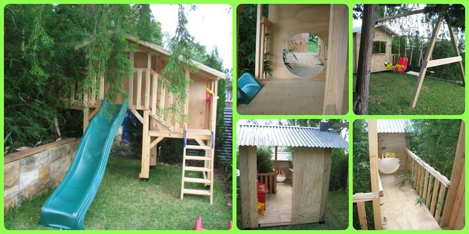 custom made cubby house design Australia