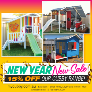 My Cubby Sale