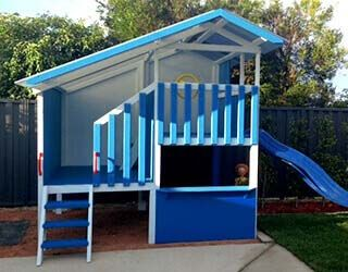 Cubby House Kits Kids Wooden Cubby Houses My Cubby