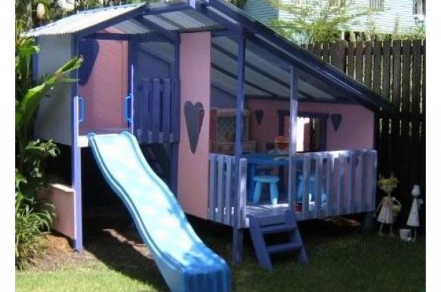 Large Cubby House Kits | Kids Cubby Houses Wooden | DIY - MyCubby