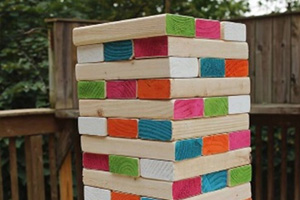 Huge Outdoor Jenga