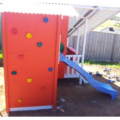 Kids Cubbies Rockwalls