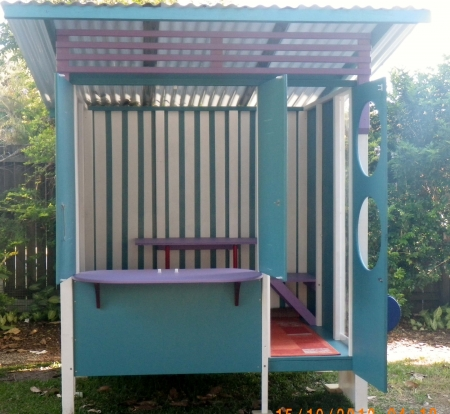 Custom Enclosed Cubby